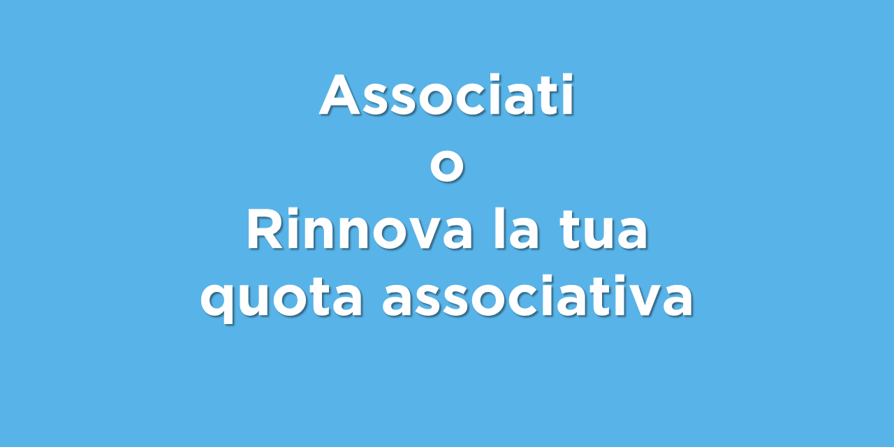Associati o rinnova la quota associativa a CIVICUM!