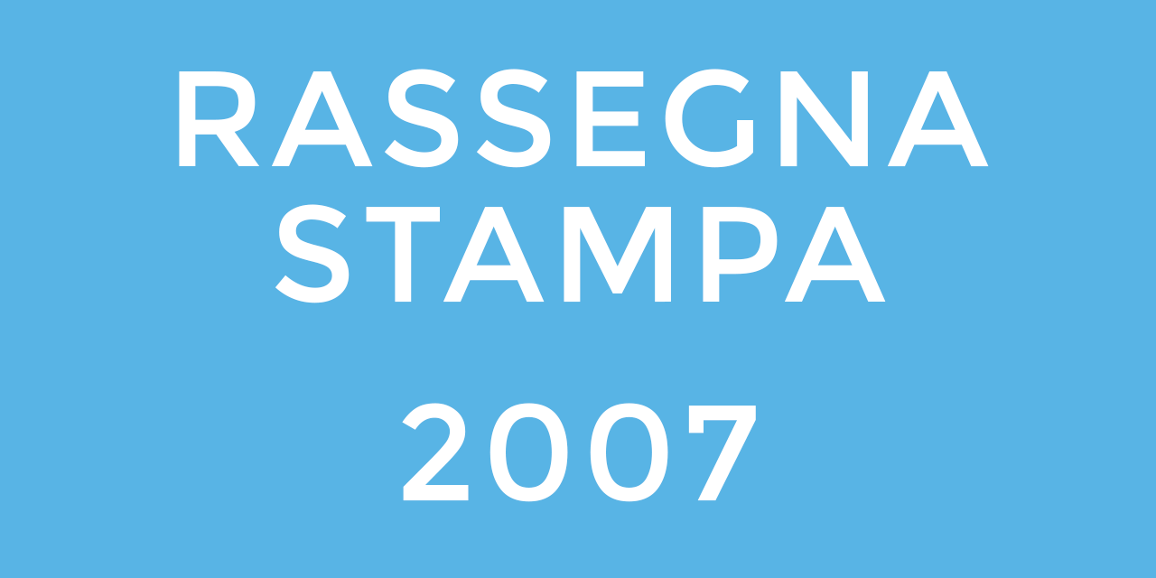 Stampa 2007