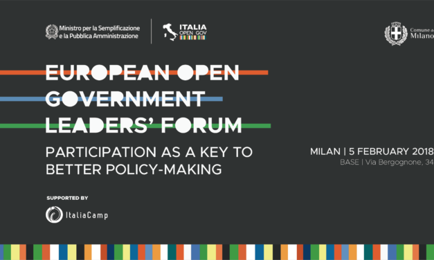 European Open Government Leaders' Forum di Davide Grignani