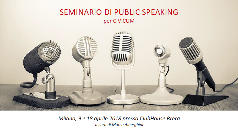 Public Speaking per Civicum