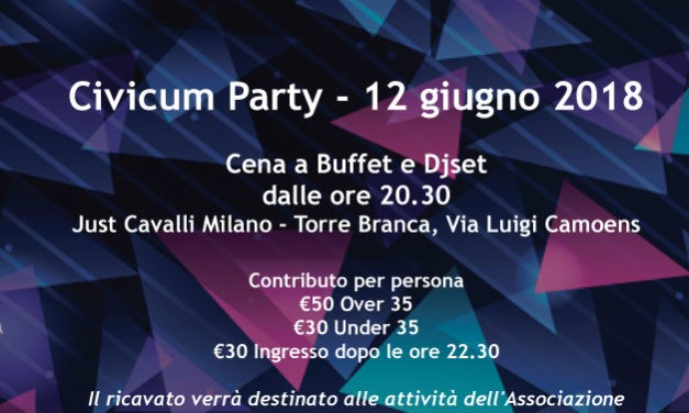 Festa d'Estate – Civicum Party – 12 Giugno 2018